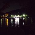 夜のボート池